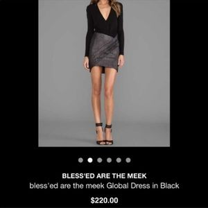 Bless'ed are the meek Dresses - Bless'ed are the Meek mini dress